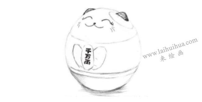 储蓄罐素描画法步骤04