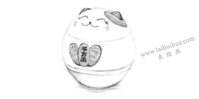 储蓄罐素描画法步骤05