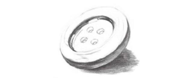 扣子素描画法步骤05