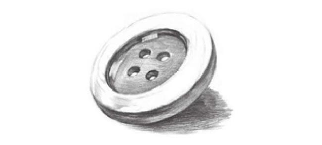 扣子素描画法步骤06