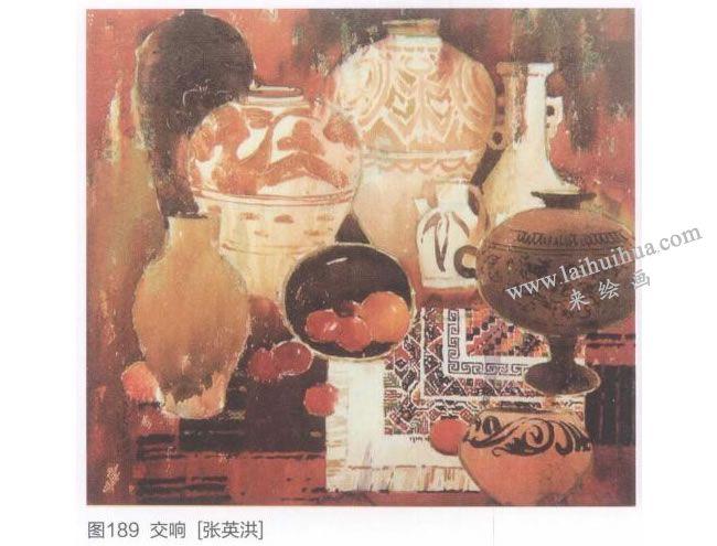 张英洪先生的静物画作品