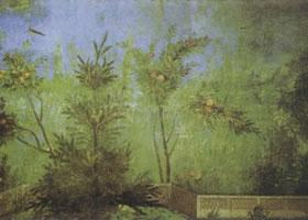 罗马壁画《利维亚别墅墙面》