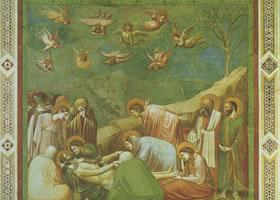 多米尼科•乔托《基督下十字架》