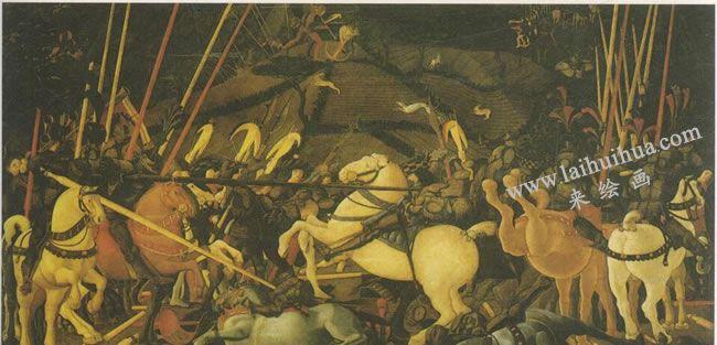 保罗•乌切洛《圣罗马诺之战》