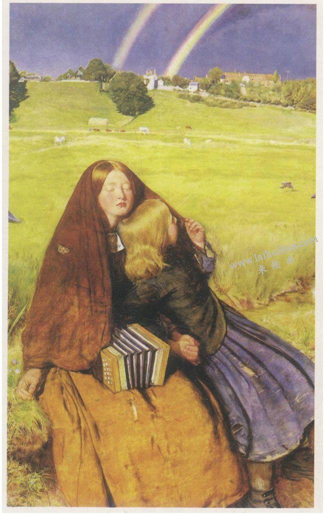 约翰•埃•米莱《盲女》名画