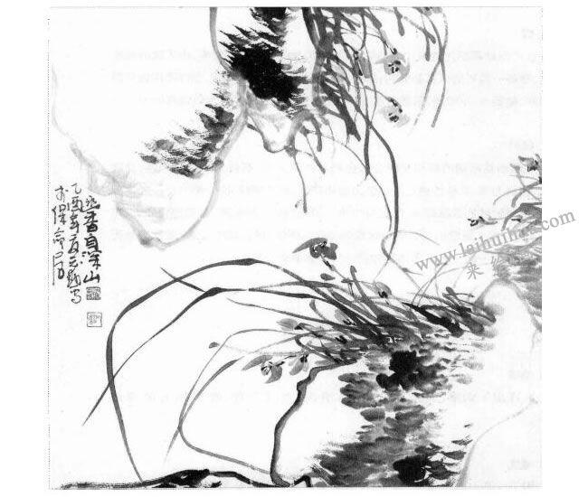 中国水墨画的主要工具材料