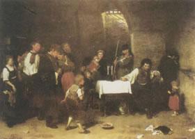 米哈依•蒙卡奇《死囚牢房》名画