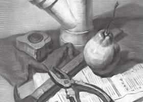 工具的素描画法步骤