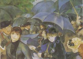 雷诺阿《伞》名画