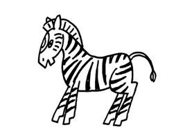 斑马儿童画法(三)