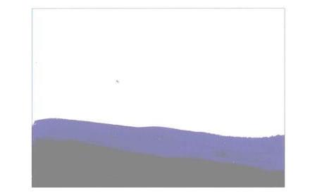 彩色的大地水粉画创作步骤01