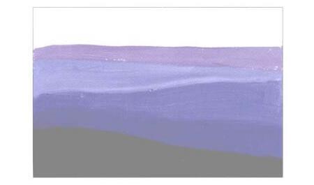 彩色的大地水粉画创作步骤03