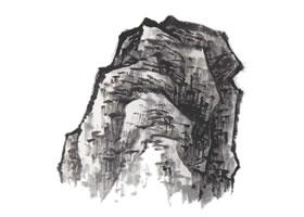 山水画小斧劈皴技法解析