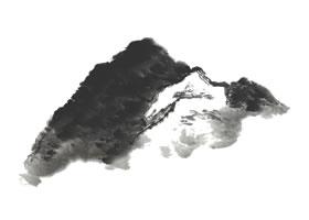 山水画米点皴技法解析