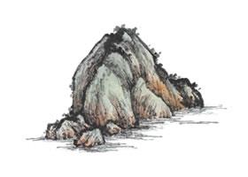 山水小青绿法技法解析