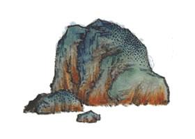 山水画大青绿法技法解析