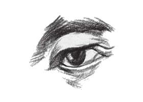 人物速写眼睛的表现方法