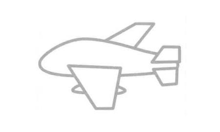 轰炸机简笔画法步骤04