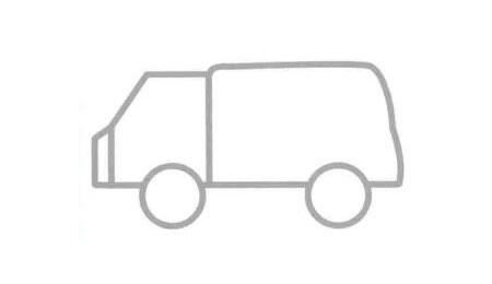 旅行车简笔画法步骤04