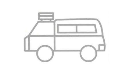 旅行车简笔画法步骤07