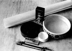 白描花卉的工具材料及使用方法