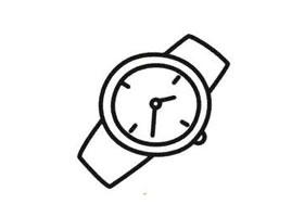 手表简笔画法