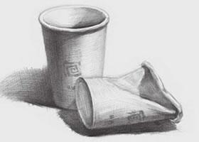 素描纸杯(三)