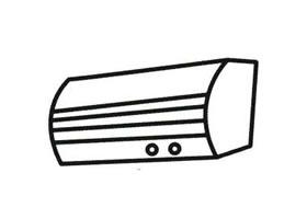 空调简笔画法