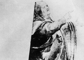 格伦奈华特《嘲弄法利赛人》素描作品