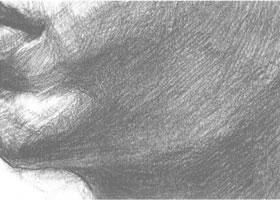 下颌的素描画法