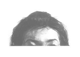 女性头发的素描画法