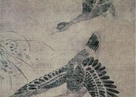 林良《芦雁图》轴