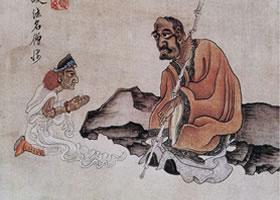 陈洪绶《杂画图册•佛释人物》