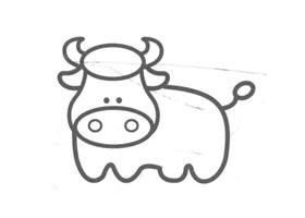 水牛儿童画法