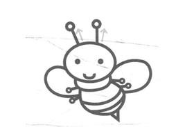 蜜蜂儿童画法(二)