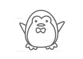 企鹅儿童画法(三)
