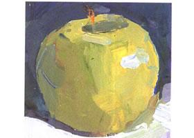 苹果的水粉画法