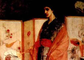 美国惠斯勒《瓷国公主》