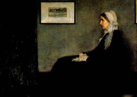 美国惠斯勒《灰色和黑色的变奏曲-母亲的肖像》