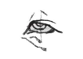 眼睛的速写画法