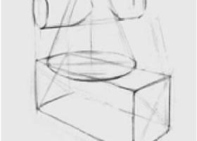 两个几何形体组合(八)