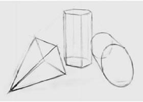 三个几何形体组合(一)