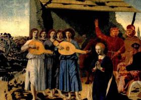 意大利人物画《基督诞生》