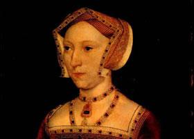 荷尔拜因《英王后让•西美亚像》