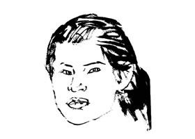 写意人物画二级步骤图