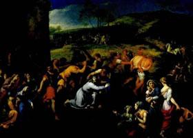 米尼亚尔《基督扛十字架》赏析
