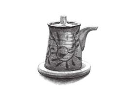 调味瓶素描画法(二)