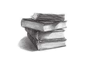 书本的素描画法(四)