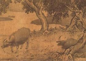阎次平《四季牧牛图》