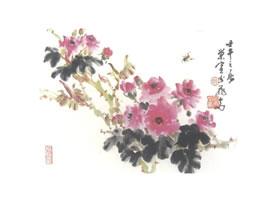 蔷薇写意画法